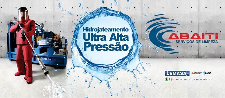 Hidrojateamento de Ultra alta pressão